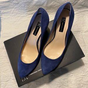 INC Suede Heels from Macy's